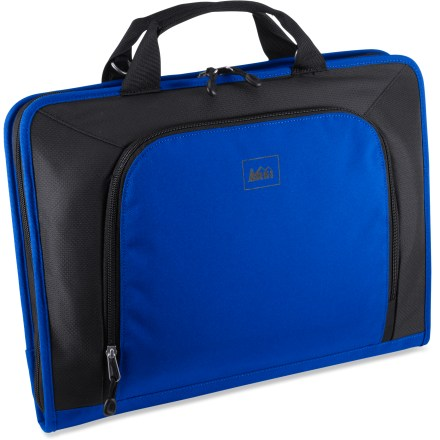 Entertainment Carry your computer confidently with our medium-size REI Tech Wrap computer sleeve, which features a TSA checkpoint-friendly design and fits laptops up to 15 in. - $15.83
