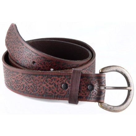 The REI Celtic Embossed belt adds a fine touch to your style with an attractive pattern and sturdy metal buckle. - $6.83