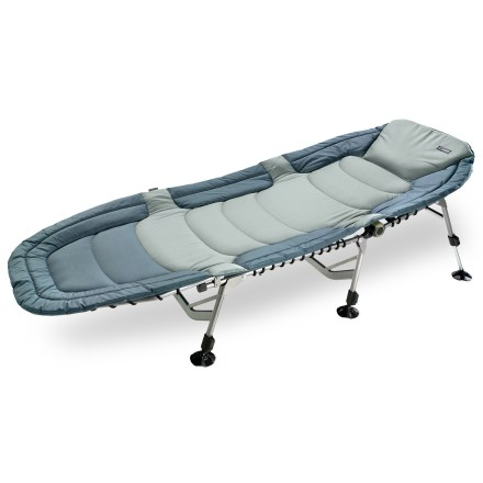 Camp and Hike Not your typical, bare-bones camping cot, ours is fully padded, providing plush support with plenty of room to stretch out, relax and slumber until the sun comes up. - $110.93