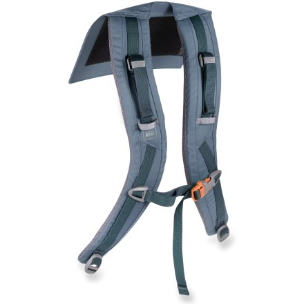 Camp and Hike The REI XT 75 shoulder straps replace a worn or damaged harness on the women's REI XT 75 pack. Precurved, padded shoulder straps match your anatomy for nonbinding comfort on and off the trail. - $13.93