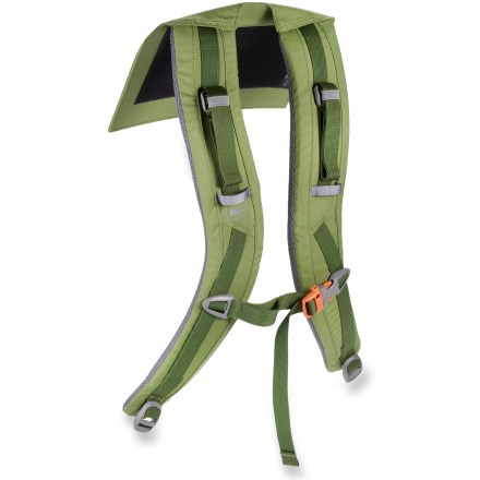 Camp and Hike The REI XT 85 shoulder straps replace a worn or damaged harness on the men's REI XT 85 pack. Precurved, padded shoulder straps match your anatomy for nonbinding comfort on and off the trail. - $13.93