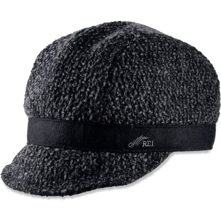 Sports The REI Textured Cordsen cap lets you keep fashion in mind while touring the city. Textured polyester exterior creates an eye-catching look. Printed cotton lining enhances comfort. Includes REI logo embroidery on the hat band. - $11.83