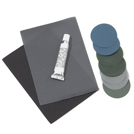 Camp and Hike Patch up your punctured REI(R) sleeping pad with this easy-to-use repair kit. - $6.00