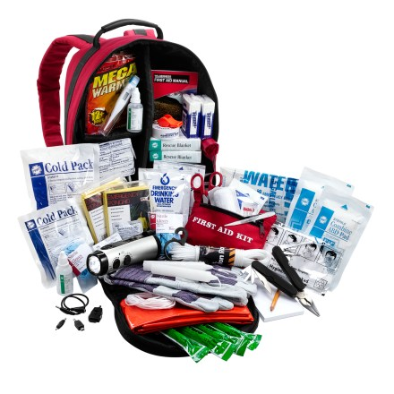 Camp and Hike The REI Emergency Kit is stocked with recommended products for emergencies, and is small enough to store in your car trunk or a closet at home. - $81.93