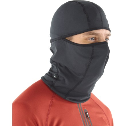 A neck gaiter and a balaclava in one, the versatile REI performance headliner fits easily beneath any helmet to provide insulating coverage. Polyester is blended with spandex for form-fitting stretch; fabric wicks moisture away from your body for quick evaporation. Smooth exterior is soft on the inside for comfort next to skin. Trim-fitting, split-face design provides convenient coverage options-keep your face covered or not; either way, the head cover stays in place. - $12.93