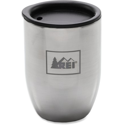 Camp and Hike Get your day started right with a cappuccino or a double shot of espresso in the REI Doppio stainless-steel tumbler. - $7.73