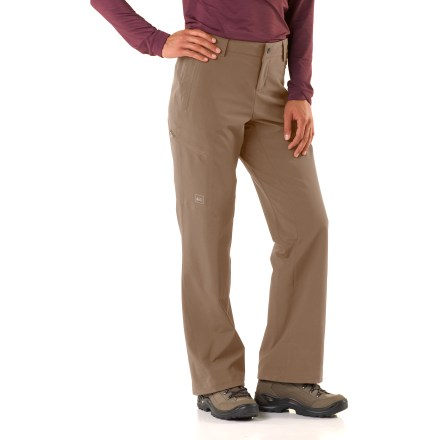 Camp and Hike Check out our latest and greatest in technical trail wear! The REI Endeavor pants dish out excellent durability, comfort and performance to make those long days on the trail more enjoyable. - $19.83