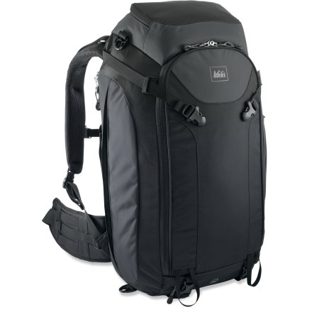 Camp and Hike Boarding a crowded train, walking cobblestone streets, trekking the hills-wherever you roam, the REI Tour 40 travel pack is the perfect choice. - $73.93