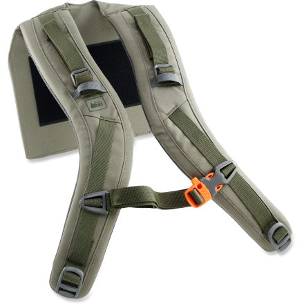 Camp and Hike The REI Crestrail 70 shoulder straps replace a worn or damaged harness on the REI Crestrail 70 pack. Precurved, padded shoulder straps match your anatomy for nonbinding comfort on and off the trail. - $13.83