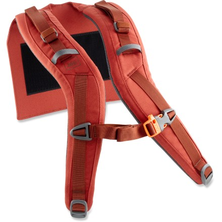 Camp and Hike The REI Crestrail 65 shoulder straps replace a worn or damaged harness on the women's REI Crestrail 65 pack. Precurved, padded shoulder straps match your anatomy for nonbinding comfort on and off the trail. - $7.93