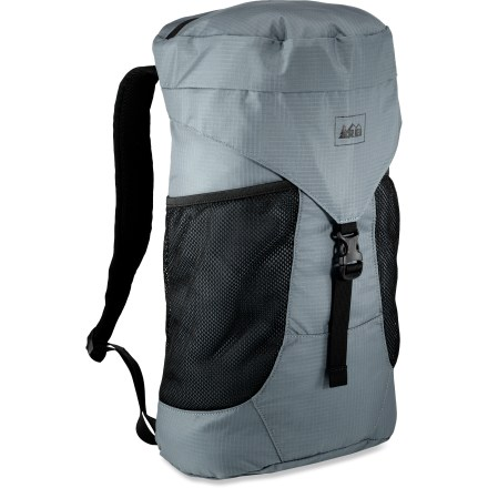 Entertainment The REI Stuff Travel Daypack is a versatile performer for all your journeys-from local adventures to exotic locales, this bag is easy to pack and hard to leave behind. - $29.50