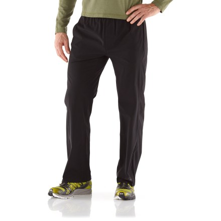Fitness You can count on REI Training pants to keep you comfortable, especially during tough workouts. Breathable fabric wicks moisture and dries quickly; fabric protects skin from harmful sunlight with a UPF 50+ rating. Elastic drawcord waist ensures a comfortable fit. Side ankle zippers make dressing over footwear easy; reflective zipper piping enhances visibility. Open handwarmer pockets and zippered rear pocket store extras. REI Training pants offer a close-to-body, athletic fit. - $40.93