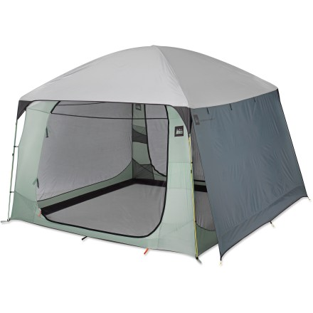 Camp and Hike The REI Screen House rainfly adds protection from wet or windy weather to our REI Screen House, sold separately. - $74.95