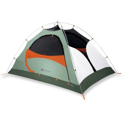 Camp and Hike Ideal for 3-season camping, the REI Camp Dome 2 is durable, trustworthy and a cinch to pitch-and it's offered at a sweet price! - $99.50