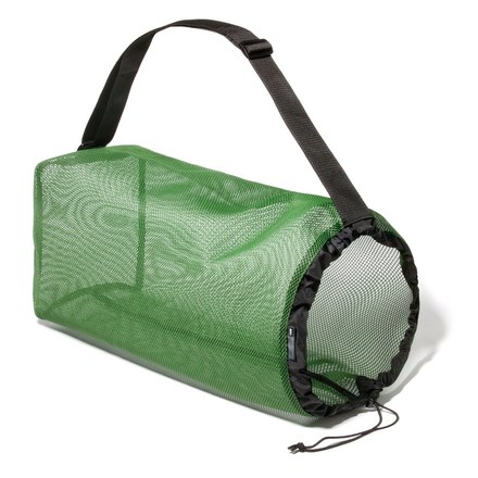 Camp and Hike Use this convenient mesh stuff sack to keep organized or to air-dry items. - $9.93