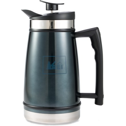 Camp and Hike Enjoy the rich, smooth flavor of French press coffee from the comfort of your campsite with the REI Table Top French coffee press. - $54.95