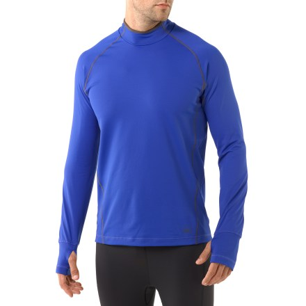 Fitness The REI Airflyte Mock top takes the chill out of cool-weather workouts. - $23.83