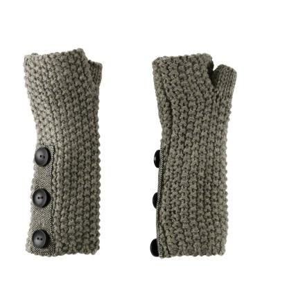 REI Nubby Arm Warmers are perfect when you want to keep the chill off your arms but don't need the warmth of a jacket. Soft acrylic knit offers excellent warmth; it also breathes well when you're active and dries quickly when damp. Arm warmers are 8.5 in. long; can be layered under long sleeves or tucked under short sleeves to extend coverage. Thumb loops keep the REI Nubby arm warmers covering the backs of your hands. - $22.50