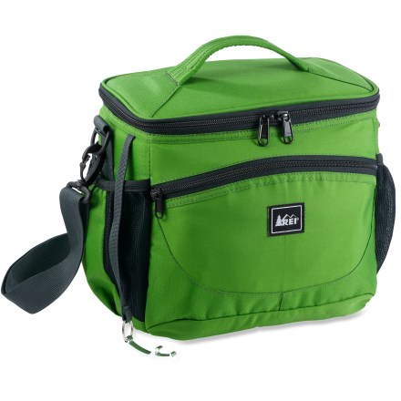 Camp and Hike Spacious enough to keep food for 2 cool, the REI Personal Cooler is great for adventures around town or in the mountains. - $9.83