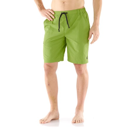 Fitness Lounge by your favorite swimming hole on a hot summer day with the comfortable REI Bolongo water shorts. - $9.83