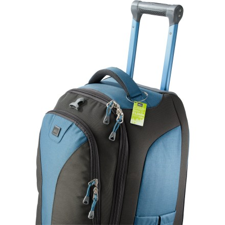 Entertainment The REI Luggage and Personal-Item Locator tags and decals keep personal data on a secure website so you dont have to display the information on luggage tags or ID stickers. - $8.83