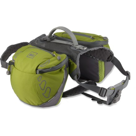 Camp and Hike The REI Ultra dog pack combines well-designed features with durable, high-quality materials to make your dog's backpacking experience sheer joy! - $54.93