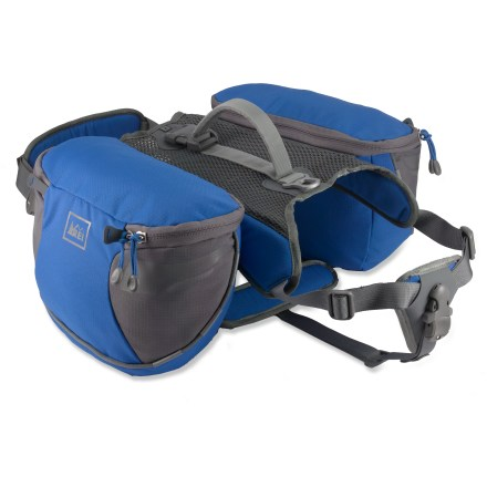 Camp and Hike Give your best friend a real treat with the REI Classic Dog Pack. It's ideally sized for weekend adventures and equipped for maximum comfort. - $54.50