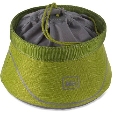Camp and Hike This REI dog food bowl keeps your furry friend's kibbles contained and easy to access on long outings. It compresses down for storage. - $9.93