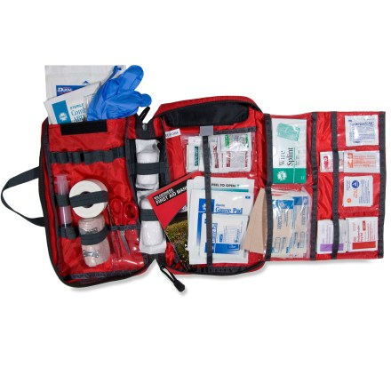 Camp and Hike The REI Backpacker first-aid kit offers quick access to needed first-aid items, and it keeps items organized so they're easy to find. - $32.73