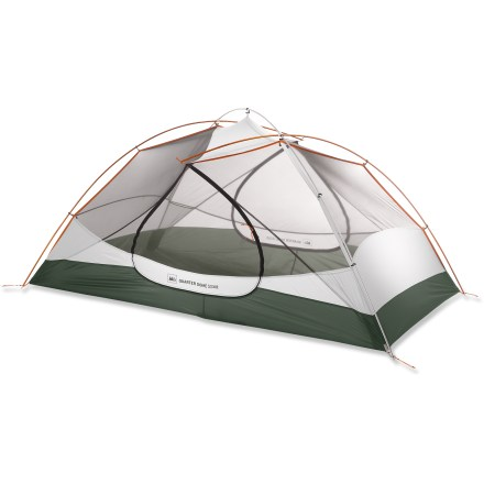 Camp and Hike The freestanding REI Quarter Dome T2 Plus tent uses lightweight materials and a unique pole design to create a 2-person, 3-season backpacking tent that's roomy, well ventilated and strong. - $238.93