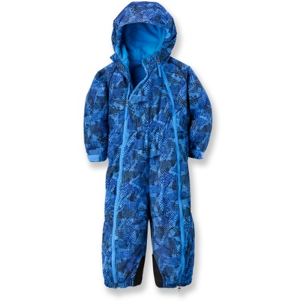 Ski The REI Timber Mountain snowsuit keeps infant and toddler boys warm and protected from the weather. - $21.83