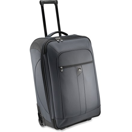 Entertainment When the trip takes you through parking lots, over curbs and conveyor belts, with a stop in the baggage compartment, the REI Inside Passage 28 is adept. Expansion zipper adds 7 liters of cargo space. - $58.83