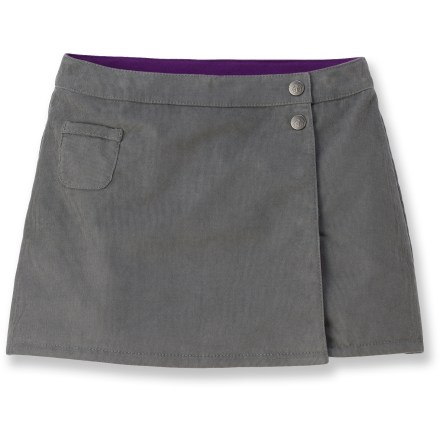 Ski The REI Quinn Quilted Cord skirt adds smart and stylish warmth and comfort to your girl's clothing options for riding the school bus or relaxing in the ski lodge. - $8.83