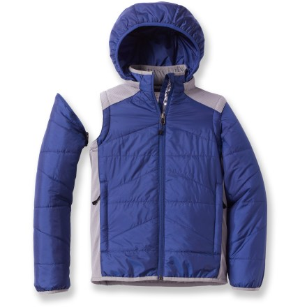 Ski The REI Random Ripstop jacket adds long-lasting, cozy warmth as a coat or vest on cold, dry days- or use it as an effective layer of insulation under a rain shell when the weather gets wet. - $24.83