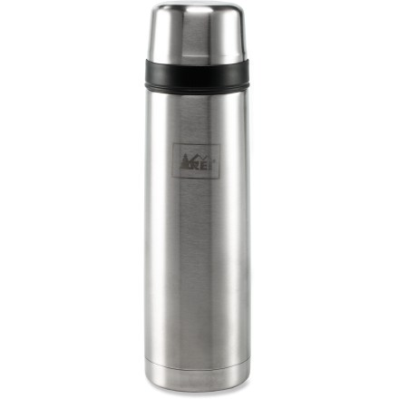 Camp and Hike The REI Classic vacuum bottle keeps a half liter of your favorite beverage hot or cold for hours while you enjoy the outdoors. - $13.73