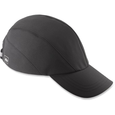 Sports Don't let a little rain ruin your plans. Pull on the REI Rangeclimber cap with eVent(TM) fabric to keep your noggin dry throughout the day. eVent fabric has a unique membrane that allows sweat vapor to escape to the outside of the fabric in 1 easy step. No matter how hard you work, overheating is highly unlikely due to this Direct Venting(TM) technology. Polyester sweatband wicks moisture off your brow. 2.75 in. brim keeps rain and sun out of your eyes. Strap in back lets you fine-tune the fit of the REI Rangeclimber cap; 1 size fits most. - $34.50