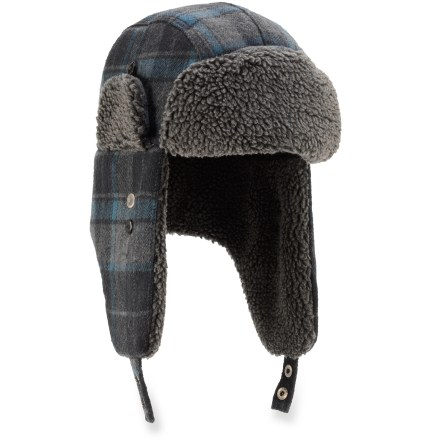 Entertainment The warm REI Plaid Aviator hat is worthy of frigid Arctic weather or a New Year's Day polar bear dip in the lake! - $16.83