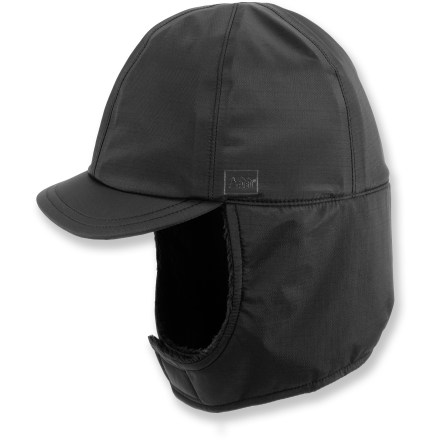 Entertainment Batten down the hatches with the REI Havenpass hat to keep cold air and blowing snow from working its way in. - $20.83
