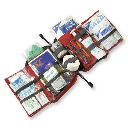 Camp and Hike The REI Hiker first-aid kit is a 4-panel, fold-out kit that outfits you for multiday adventures. - $21.73