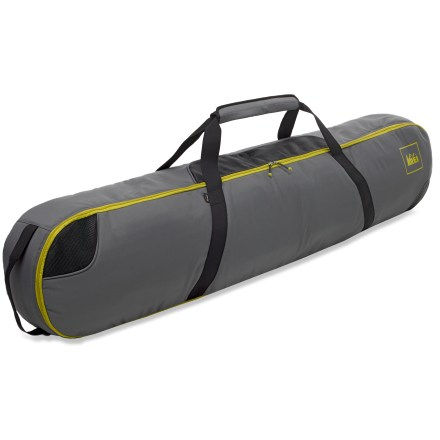 Snowboard Our REI Evaporator Snowboard bag features ventilated, padded protection to make traveling with and storing your snowboard simple and easy. - $43.93