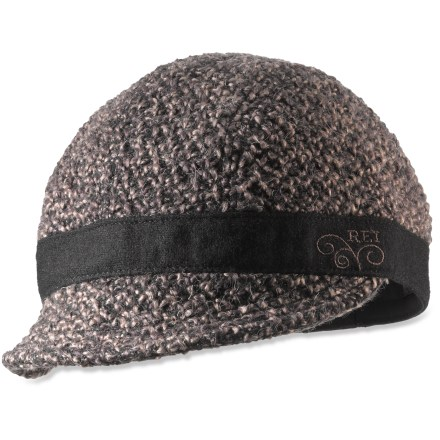 Sports The REI Textured Cordsen cap helps you keep fashion in mind while touring the city. Textured exterior creates an eye-catching look. Printed cotton lining is soft and comfortable. Soft visor has wire in the edge so you can mold the shape. - $24.50