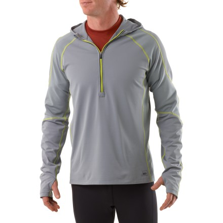 Fitness In our REI Airflyte hoodie, cold mornings and not-so-perfect training weather are no longer excuses to prevent you from enjoying a run. - $28.83