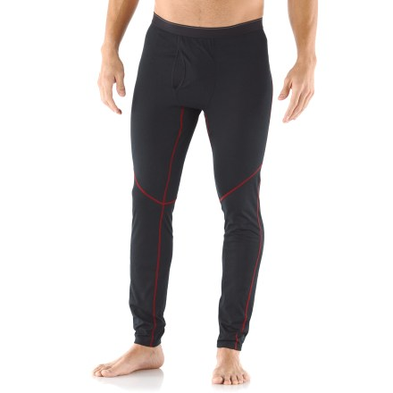 The REI Lightweight Polartec Power Dry long underwear bottoms for tall men let you layer with confidence; they're light enough for aerobic activity yet fit smoothly under other pieces. - $23.93
