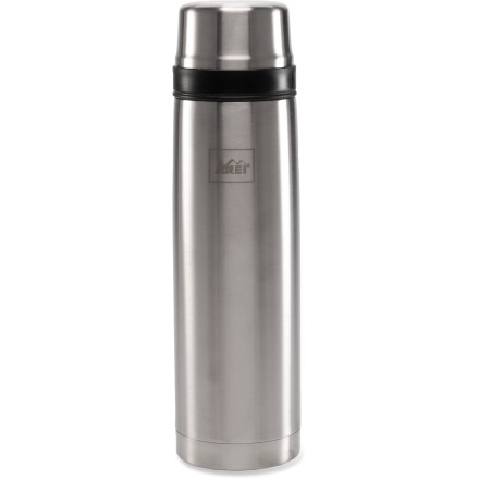 Camp and Hike The 1-liter REI Classic vacuum bottle bottle keeps your favorite beverage hot or cold for hours while you explore the outdoors. - $13.93