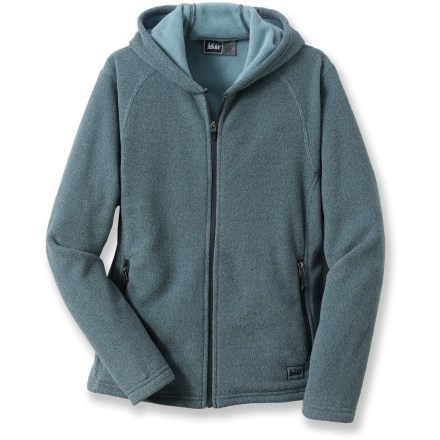 The REI Polartec Thermal Pro Fleece hoodie is built for hard-charging adventurers. Polartec(R) Thermal Pro(R) keeps your core warm as the temperature drops. Hood wraps around your head for warmth and protection from the elements. Zippered handwarmer pockets keep small items secure. Drawcord hem keeps the cold out. Special buy. - $36.73