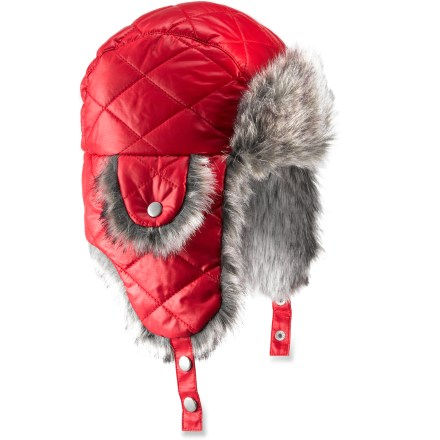 Entertainment The REI Quilted Aviator hat will have her standing out in a crowd and staying warm when the north winds blow. - $12.83