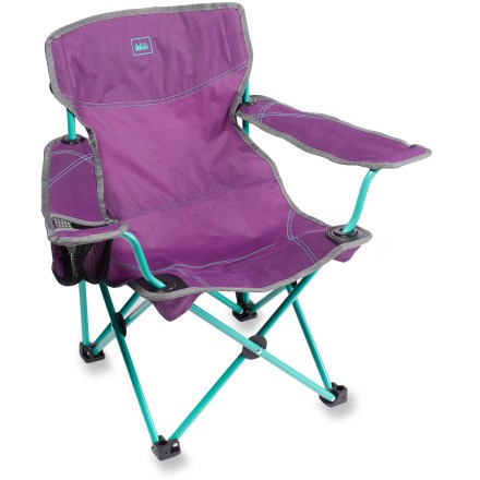 Camp and Hike Let your young ones enjoy a comfortable spot by the campfire just like you with this strong, sturdy and kid-friendly chair. - $24.50