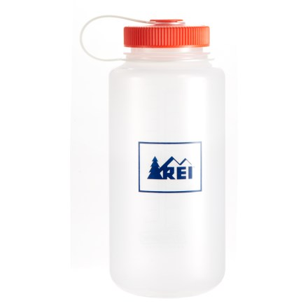 Camp and Hike Guaranteed leakproof, this REI Nalgene wide-mouth loop-top water bottle is a must-have for camping or campus. - $10.50