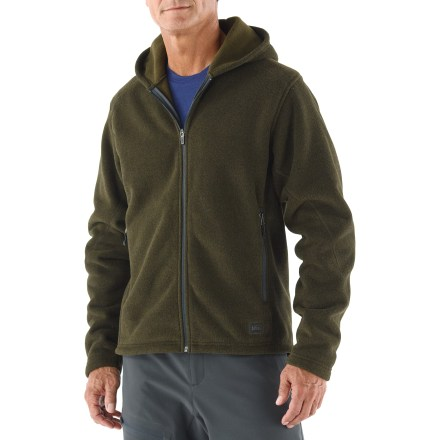 The REI Polartec Thermal Pro Fleece hoodie is ready for fast-paced adventures in the cold. - $49.73