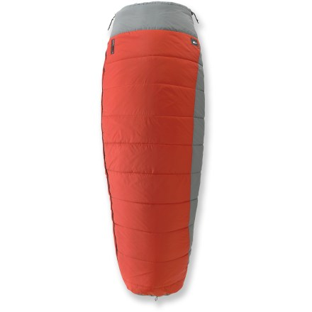 Camp and Hike The REI Siesta +30/40 sleeping bag has you covered on car-camping adventures and warm-weather trips. - $62.73
